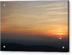 Turkey Heaven Sunset Acrylic Print by Beverly Hammond
