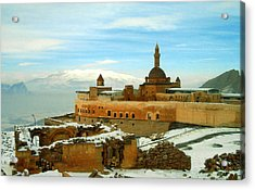Acrylic Print featuring the photograph Turkish Fortress by Lou Ann Bagnall