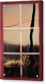 Turn Left At Dawn Acrylic Print by Susan Capuano
