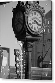 Turning Back Time Acrylic Print by Shawn Hughes