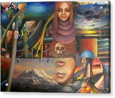 Turpenoid Acrylic Print by Jody Swope