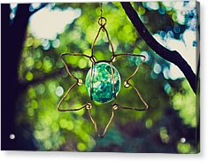 Acrylic Print featuring the photograph Turquoise Light by Sara Frank