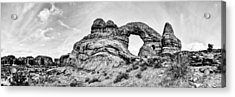 Turret Pano Acrylic Print by Chad Dutson