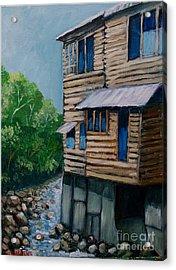 Turrialba's House Acrylic Print