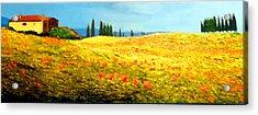 Tuscan Beauty Acrylic Print