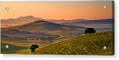 Tuscan Morning Acrylic Print by Daniel Sands