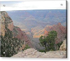 Twilight At Grand Canyon Acrylic Print by Pasha Sourbeer