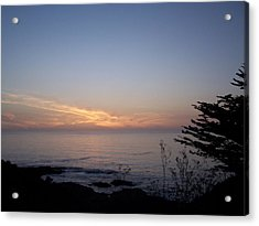 Twilight Coastline Acrylic Print