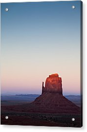 Twilight In The Valley Acrylic Print by Dave Bowman