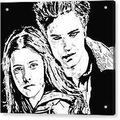 Twilight Acrylic Print by Lori Jackson