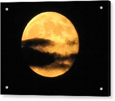 Acrylic Print featuring the photograph Twilight Moon by Shawn Hughes