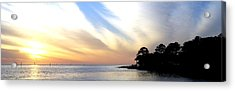 Twilight On The Gulf Acrylic Print