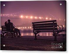 Twilight Romance Acrylic Print by AHcreatrix