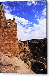 Twin Towers At Cliffs Edge Acrylic Print