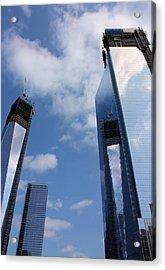 Twin Towers Acrylic Print by Kristin Elmquist