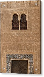 Twin Windows Alhambra Acrylic Print
