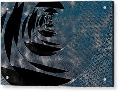 Twirling Shine Acrylic Print by Mihaela Stancu