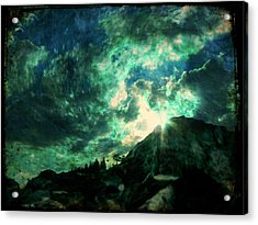 Twisted Nimbus Acrylic Print by Leah Moore