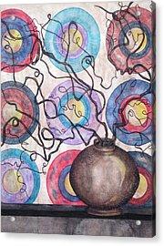 Twisted Zen Acrylic Print by David Raderstorf