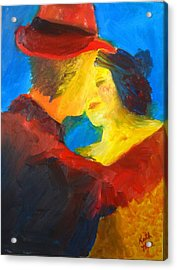 Acrylic Print featuring the painting Two Am Tango by Keith Thue