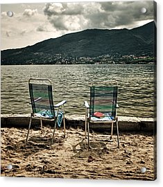 Two Chairs Acrylic Print