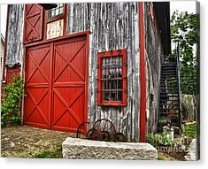 Two Doors Acrylic Print