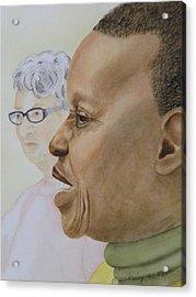 Two Grandmas Acrylic Print