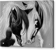Two Gypsies Acrylic Print by Stephanie L Carr