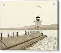 Two Harbors Acrylic Print