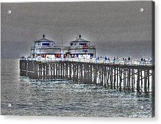 Two Towers Malibu Acrylic Print