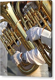 Two Tuba Players Acrylic Print