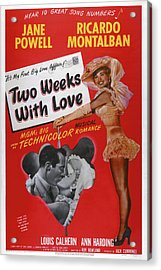 Two Weeks With Love, Insert Ricardo Acrylic Print by Everett