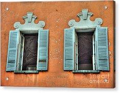 Two Windows Acrylic Print
