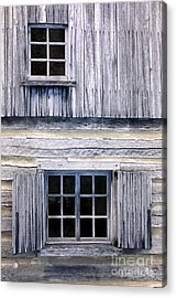 Two Windows Acrylic Print by Paul W Faust -  Impressions of Light