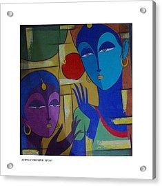 Two Women  Acrylic Print