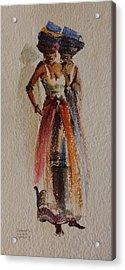 Two Xhosa Women Acrylic Print