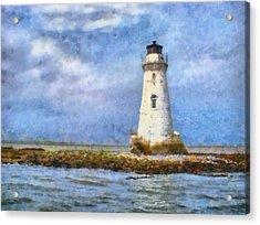 Tybee Island Lighthouse Acrylic Print by Lynne Jenkins