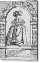 Tycho Brahe Acrylic Print by Science, Industry & Business Librarynew York Public Library