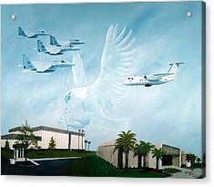 Tyndall Afb Later Years Acrylic Print