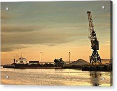 Tyne And Wear, Sunderland, England Acrylic Print by John Short