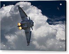 Typhoon Tag Acrylic Print by Kris Dutson