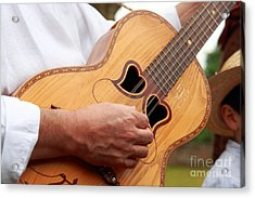 Typical Azores Guitar Acrylic Print by Gaspar Avila
