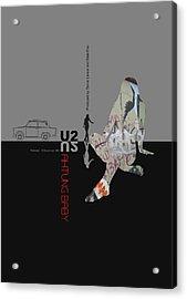 U2 Poster Acrylic Print by Naxart Studio