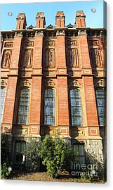 Uc Berkeley . South Hall . Oldest Building At Uc Berkeley . Built 1873 . 7d10111 Acrylic Print by Wingsdomain Art and Photography