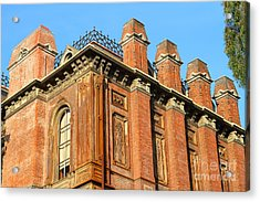 Uc Berkeley . South Hall . Oldest Building At Uc Berkeley . Built 1873 . 7d10114 Acrylic Print by Wingsdomain Art and Photography