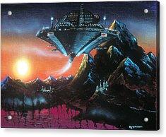 UFO Acrylic Print