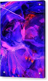 Ultraviolet Acrylic Print by Colleen Cannon