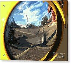 Um Die Ecke Acrylic Print by Joe Jake Pratt