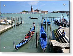 Un Altro Giorno A Venezia Acrylic Print by Martina Fagan