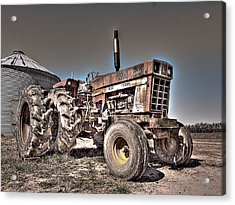 Uncle Carly's Tractor Acrylic Print